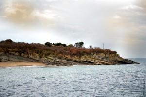 Isla Santa Marina desde el barco