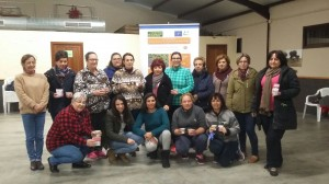 Foto de grupo de los participantes en el taller del Toril