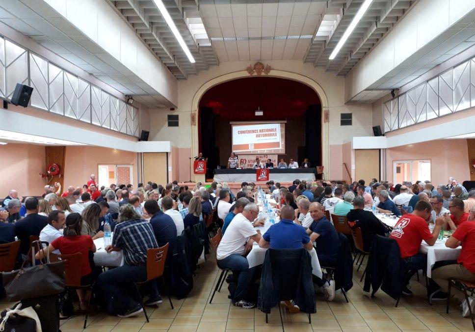 Conférence Nationale Automobile Fédération FO Métaux