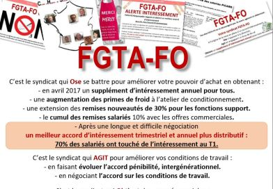 Tract Octobre : Votre syndicat