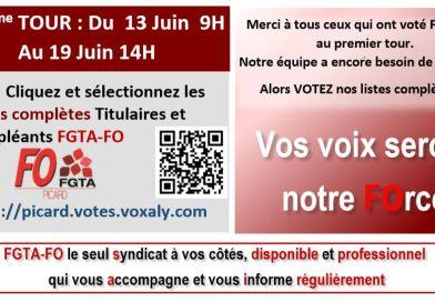 Elections CSE (2ème Tour)