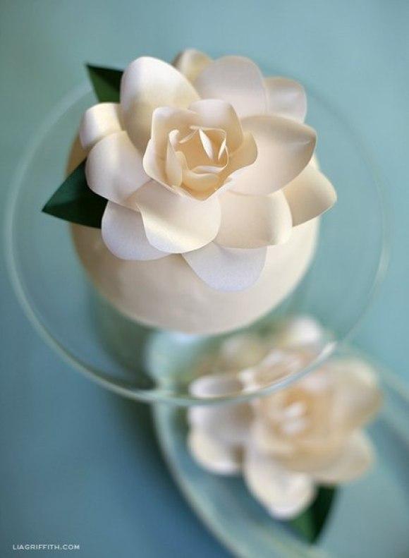 Очарование бумажных цветов в вашем доме.