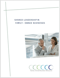 The trend over the last ten years in family business is toward equality, where businesses have a system of multiple leaders and transition control of the business to the next generation in the form of a leadership group. This white paper from Strategic Designs for Learning discusses the typical structures of family owned businesses and criteria for selecting the right shared leadership model.