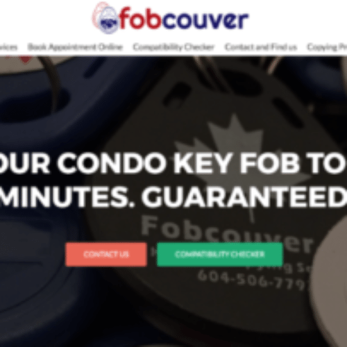 fobcouver fob copying copy replacement service vancouver location