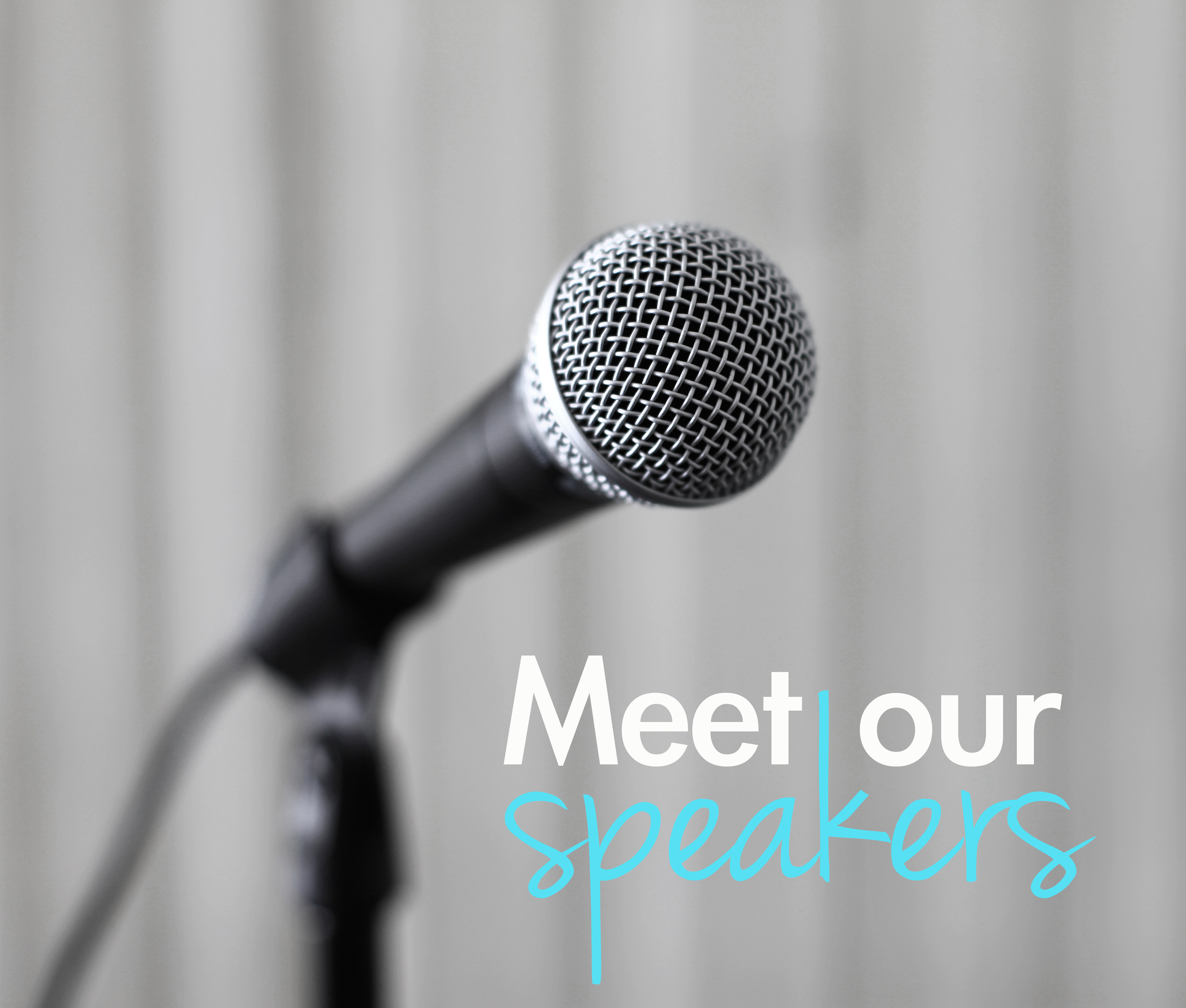 Image result for meet our speakers