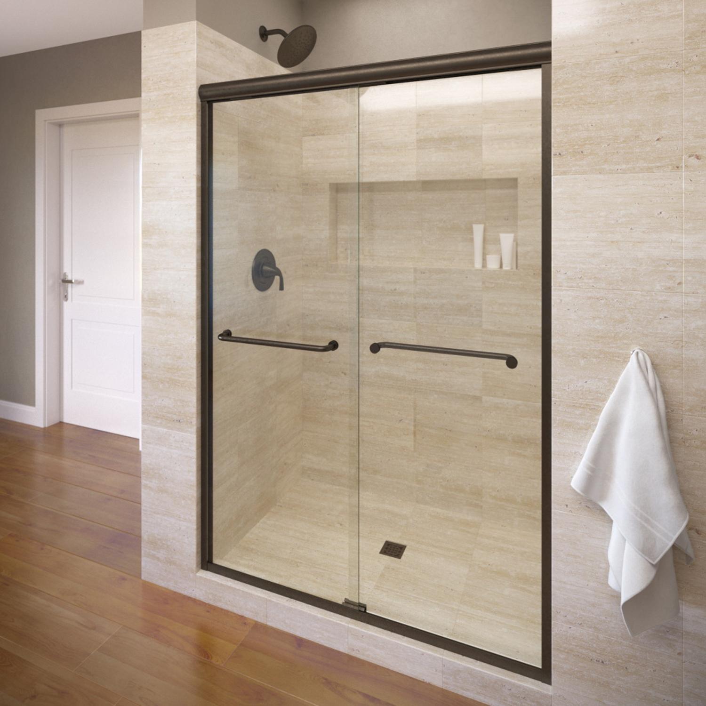 Basco 4500 60clor 60 Infinity Sliding Shower Enclosure With