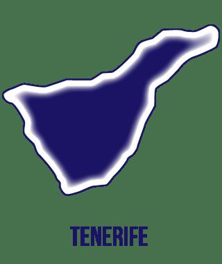 icono isla de Tenerife. Listado provisional de cursos para desempleados