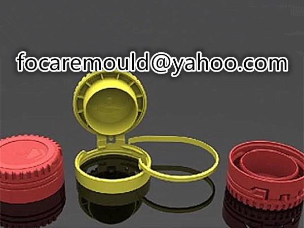 CTC edible oil cap mold