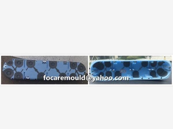 bi materials junction box mold