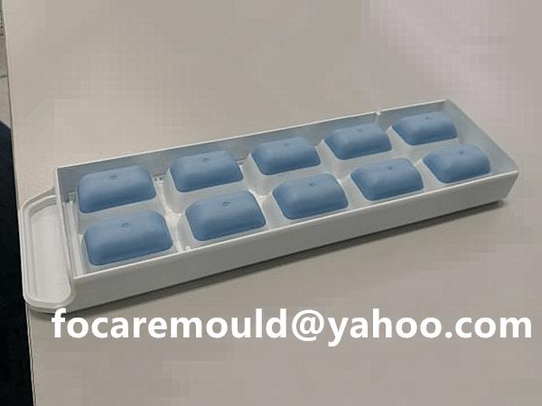 double ice cube tray mold
