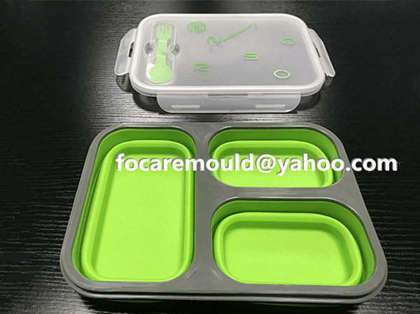 folding bento box mold 2k