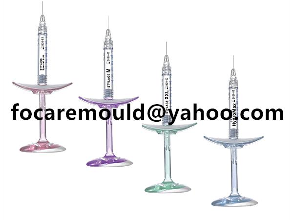 multi shot hyaluronic acid syringe mold