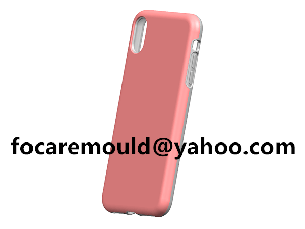 plastic double iphone shell mold