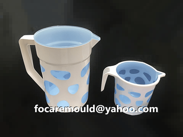 plastic double mold jug