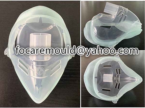 rotary mold nebulizer face mask