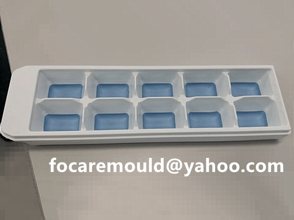 two color ice cube box
