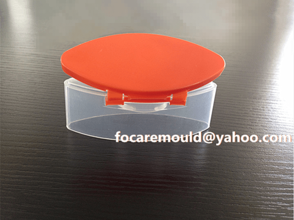 two color snap top closure mold design