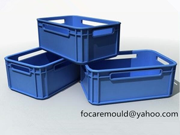 2cavity crate mold
