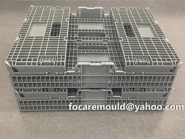 folded crate mold