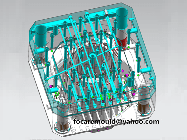 plastic bin mold design