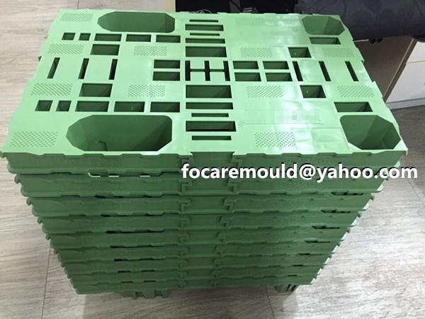 plastic demountable pallet