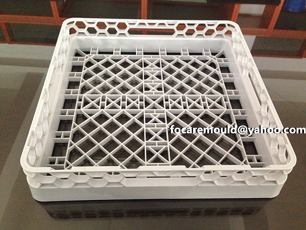 plastic vegetables crate mold