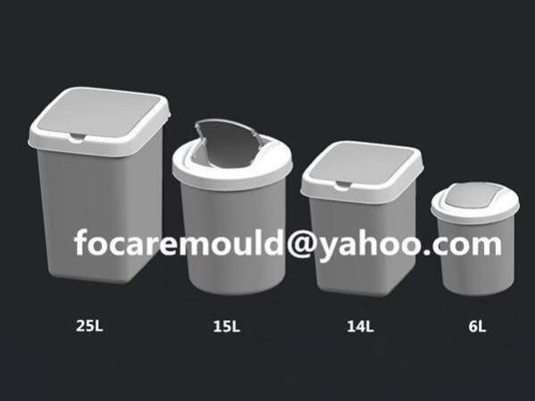 plastic waste container mold