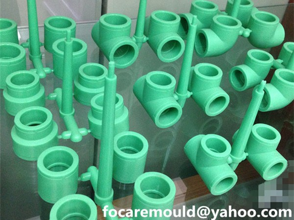 PPR pipe fittings mold