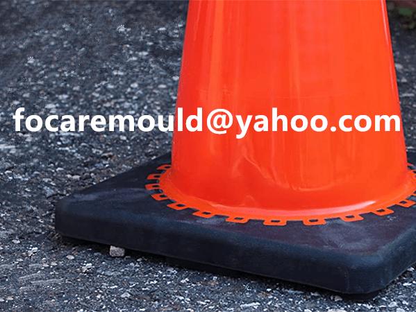 2k rubber construction cone