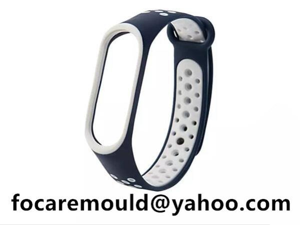 bi materials wrist strap design