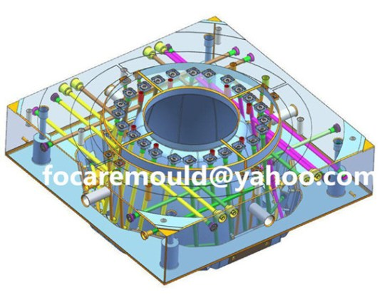 high speed bucket mold design