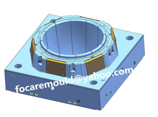 high speed bucket mold supply