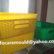 rattan design basket mold