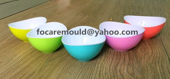 twin color houseware mold