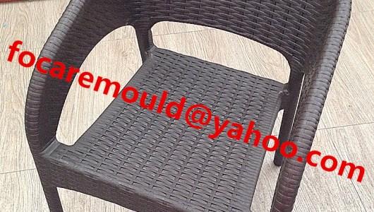 China rattan chair mold supply