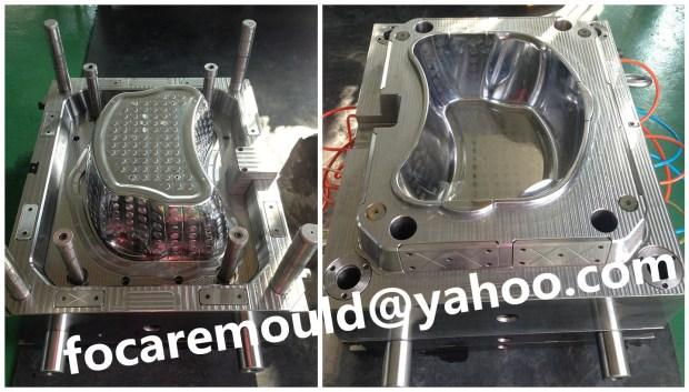 light weight laundry basket mold China supply