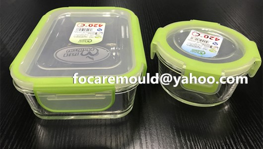 bi component food storage lids