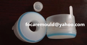China 5 gallon cap mold two color