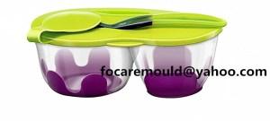 2K mold toddler assist food bowl