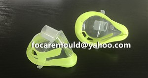 2 component Oxygen mask mold China maker