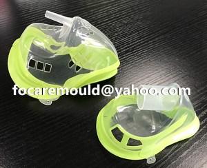 China mold 2K Oxygen mask