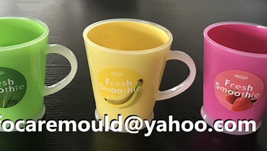 China rotary mold cups two color