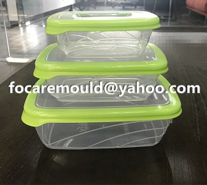 double color food containers