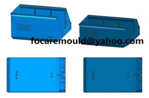 logic storage box mold China