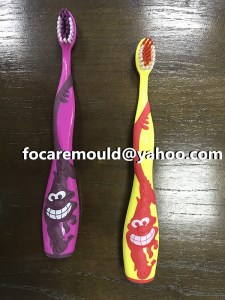 multi K toothbrush injection molding