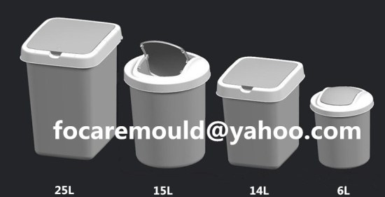 trash bins mold China maker