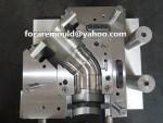 pvc bend side core mold design