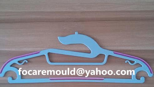 2 component plastic hangers