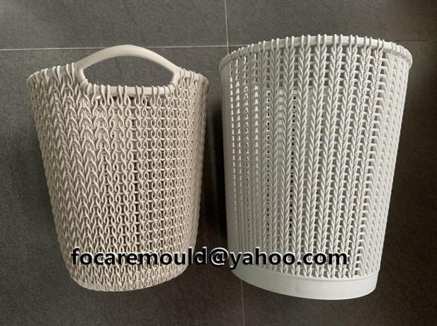 rattan plastic basket home ware