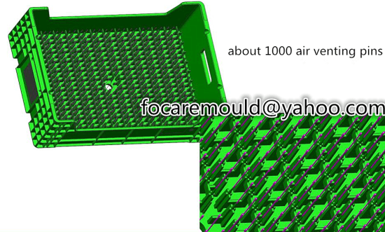 seedling box mold design